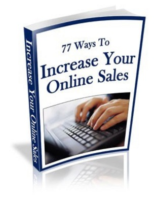 Product picture 77 Ways To Increase Your Online Sales