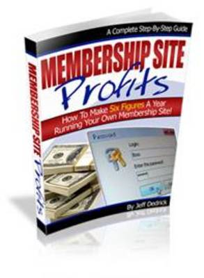 Product picture Membership Site Profits
